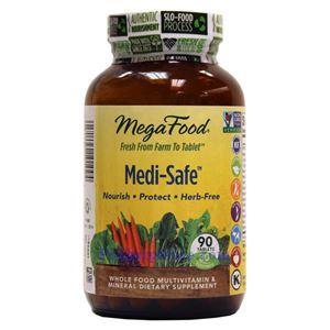 Picture of Megafood Medi-Safe 90 Tablets