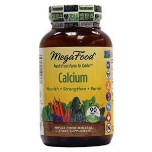 Picture of Megafood Calcium 90 Tablets