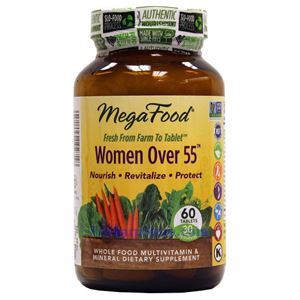 Picture of Megafood Women Over 55 Multivitamin Without Iron  60 Tablets