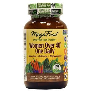 Picture of Megafood Women Over 40 One Daily Multivitamin 90 Tablets