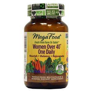 Picture of Megafood Women Over 40 One Daily Multivitamin 60 Tablets