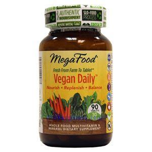 图片 Megafood 牌有机素食复合维生素片 90粒