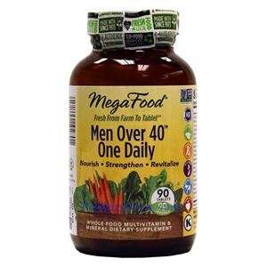 Picture of Megafood Men Over 40 One Daily Multivitamin 90 Tablets