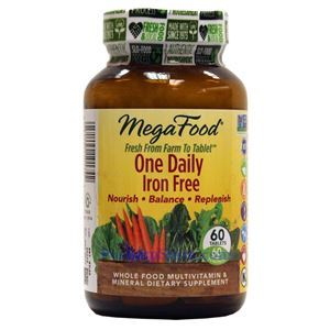 Picture of Megafood One Daily Iron Free Multivitamin 60 Tablets