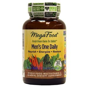 Picture of Megafood Men's One Daily Multivitamin 30 Tablets