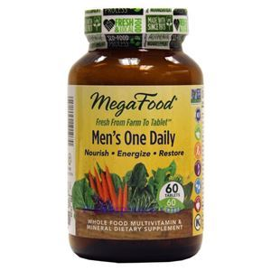 Picture of Megafood Men's One Daily Multivitamin 60 Tablets