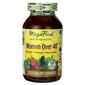 图片 Megafood 牌四十岁以上女人复合维生素片 180粒