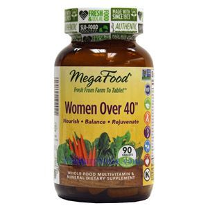 Picture of Megafood Women Over 40 Multivitamin 90 Tablets