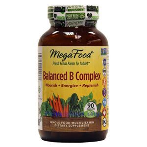 Picture of Megafood Balanced B Complex 90 Tablets