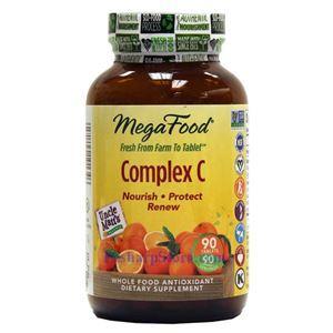 Picture of Megafood Complex C 90 Tablets