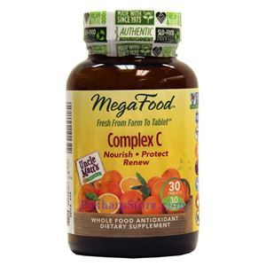 Picture of Megafood Complex C 30 Tablets