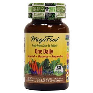 Picture of Megafood One Daily Multivitamin 30 Tablets