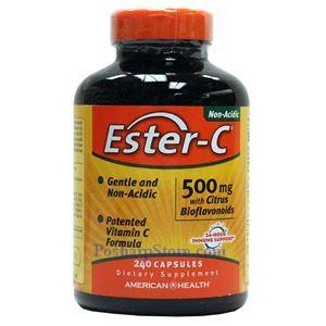 Picture of American Health Ester-C with Citrus Bioflavonoids 500 mg 240 Capsules