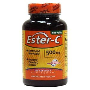 Picture of American Health Ester-C 500 mg 120 Capsules