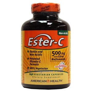 Picture of American Health Ester-C with Citrus Bioflavonoids 500 mg 240 Vegetarian Capsules