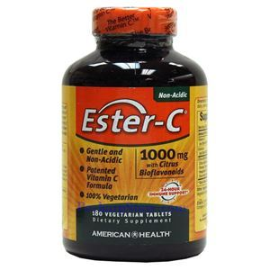 Picture of American Health Ester-C with Citrus Bioflavonoids 1000 mg 180 Vegetarian Tablets