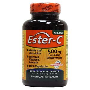 Picture of American Health Ester-C with Citrus Bioflavonoids 500 mg 225 Vegetarian Tablets