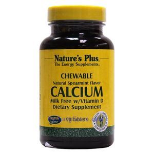 Picture of Nature's Plus Calcium Milk-Free with Vitamin D Chewables 90 Tablets