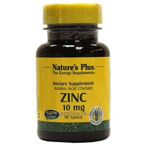 Picture of Nature's Plus Zinc 10 mg 90 Tablets