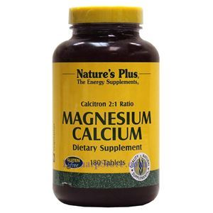 Picture of Nature's Plus Calcitron 2:1 Ratio Magnesium/Calcium  180 Tablets
