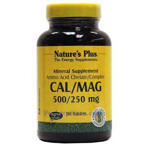 图片 Nature's Plus牌钙镁片 500/250毫克 90粒