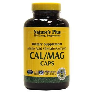 图片 Nature's Plus牌钙镁素食胶囊 500/250毫克 90粒