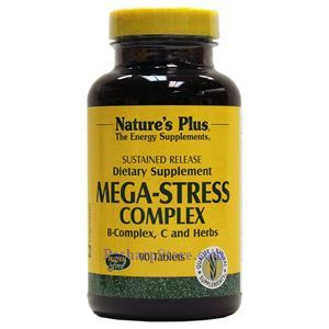 Picture of Nature's Plus Mega-Stress Complex Sustained Release Tablets