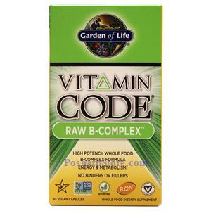 Picture of Garden of Life Vitamin Code Raw B-Complex 120 Veg Capsules