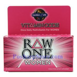 Picture of Garden of Life Raw One for Women Multivitamin 30 Veg Capsules
