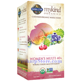 Picture for category Garden of Life mykind Organics Women's Multi 40+ Whole Food Multivitamins 120 Veg Tablets