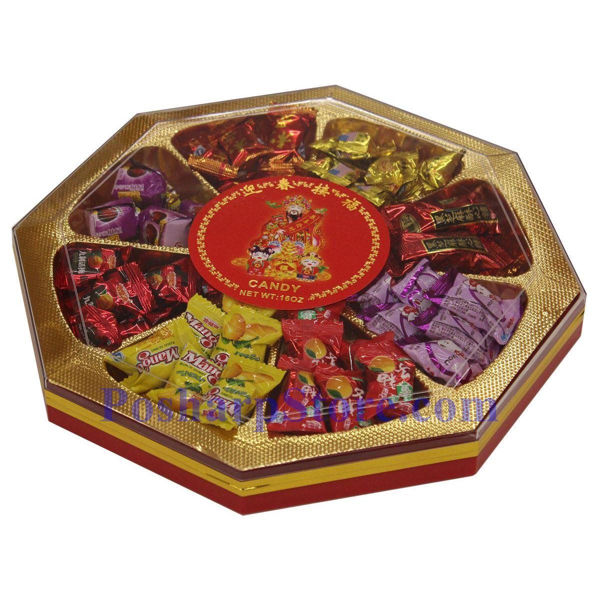 分类图片 贺年礼盒迎春接福(糖果) 454克