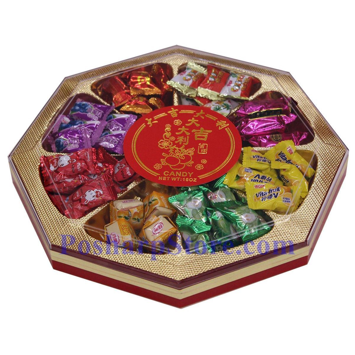 Picture for category Assorted Candies for Chinese New Year (Good Luck) 16 Oz