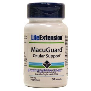 Picture of Life Extension MacuGuard Ocular Support 60 Softgels