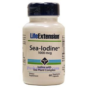 Picture of Life Extension Sea-Lodine 1000mg 60 Vegetarian Capsules