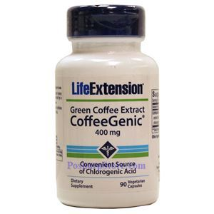 Picture of Life Extension CoffeeGenic® Green Coffee Extract 400 mg 90 Veg Capsules