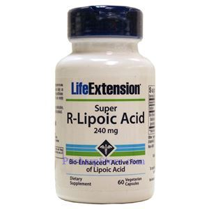 Picture of Life Extension Super R-Lipoic Acid 240 mg  60 Veg Capsules