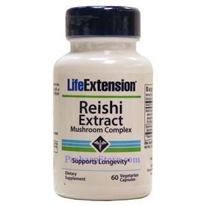 Picture of Life Extension Reishi Extract Mushroom Complex 60 Veg Capsules