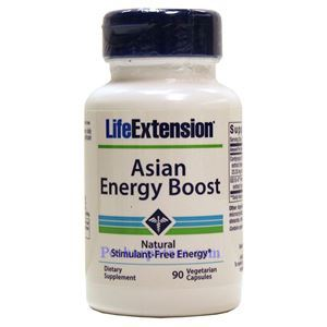 Picture of Life ExtensionAsian Energy Boost  90 Veg Capsules