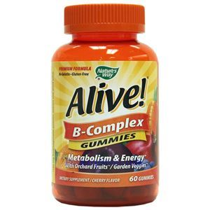 Picture of Nature's Way Alive B-Complex Gummies 60 Gummies