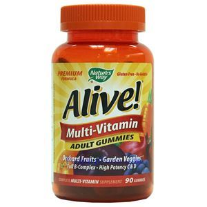 Picture of Nature's Way Alive Multi-Vitamins Adult Gummies 90 Gummies