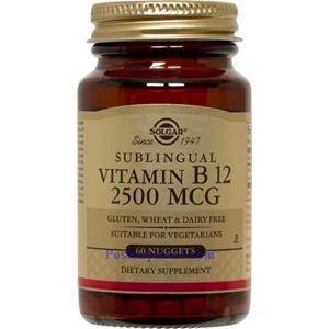 图片 Solgar牌维生素B12素胶囊 2500微克 60粒