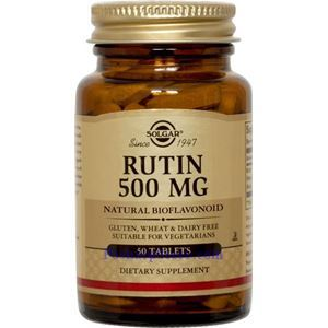 Picture of Solgar Rutin 500 mg 50 Tablets