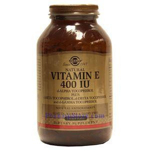 Picture of Solgar Vitamin E 400 IU Mixed 250 Softgels
