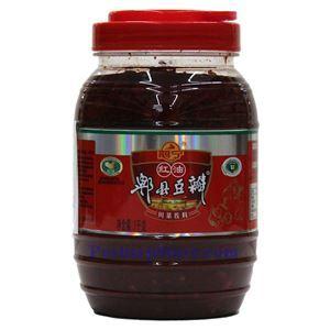 图片 鹃宁牌红油郫县豆瓣酱 1公斤