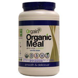 图片 Orgain牌有机植物综合营养蛋白粉(香草味) 920克