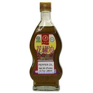 Picture of Lihong Red Sichuan Pepper Oil 12.5 Oz