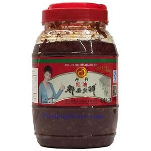 Picture of Dandan Pixian Chili Broad Bean Paste with Oil (Doubanjiang) 2.4 lbs