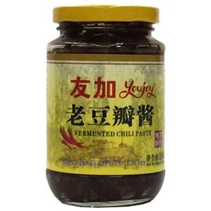 Picture of Youjoy Aged Chili Broad Bean Paste With Oil (doubanjiang) 13.4 oz