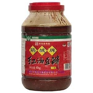 图片 郫县鹃城牌红油郫县豆瓣酱 4公斤