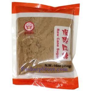 Picture of Havista Raw Cane Sugar (Brown Sugar Powder) 16 Oz